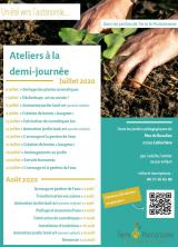 Affiche ateliers